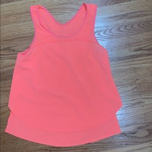 lululemon tank top size 4! BRIGHT PINK!